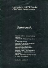 """La creazione della donna , """"Semicerchio"""", I, 1986"""