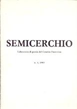 """Il martirio, """"Semicerchio"""", V, 1989"""