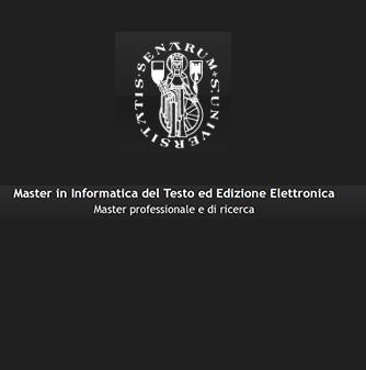 """Inaugurazione Master """"Informatica del testo-Edizione elettronica"""""""