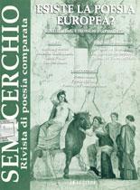 """Esiste la poesia europea?, """"Semicerchio"""", XVIII (1998)"""