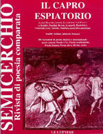 """Il capro espiatorio, """"Semicerchio"""", XIX (1998)"""