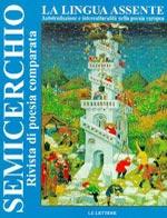 """La lingua assente, """"Semicerchio"""", XX-XXI (2001)"""