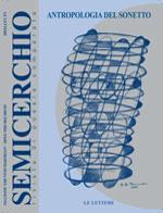 """Antropologia del Sonetto, """"Semicerchio"""",  XXIII (2002)"""