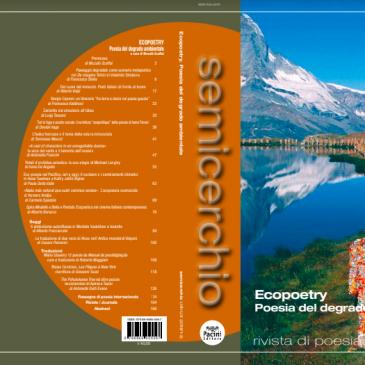 """Ecopoetry, """"Semicerchio"""",  58-59 (2018)"""