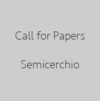 Call for Papers – Semicerchio. Rivista di poesia comparata