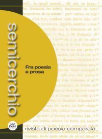 "Tra poesia e prosa,""Semicerchio"", 50 (2014/1)"
