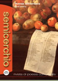 "Poesia alimentare, ""Semicerchio"", 52 (2015/1)"