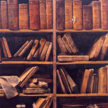 Censimento del materiale librario del Centro. (I) Libri ed estratti
