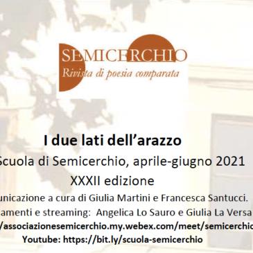 Scuola aperta di Semicerchio, aprile-giugno 2021